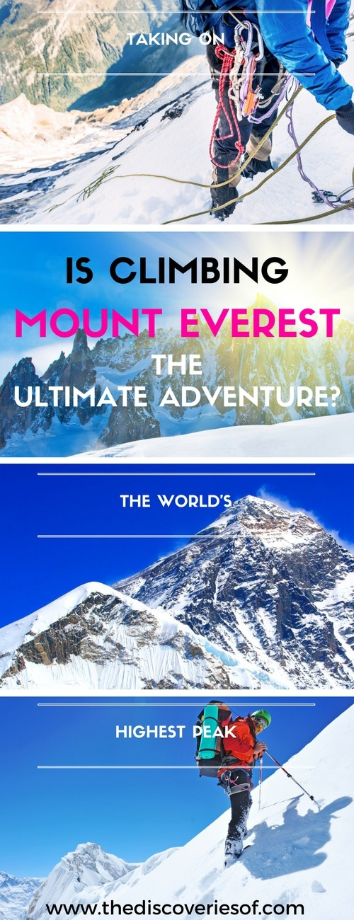 Mount Everest. The ultimate challenge for the outdoor adventurer. A must-read guide packed with facts for anyone considering climbing to the summit on an expedition to the top of the world's tallest mountain. Read more.