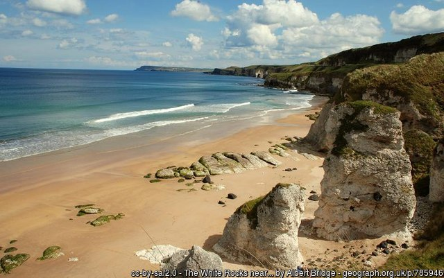 Portrush Whiterocks is Northern Ireland's Most Beautiful Beach - Here are 20 amazing beaches in the UK