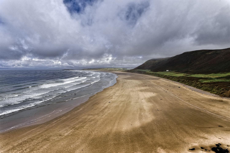 Rhossli Bay, Wales