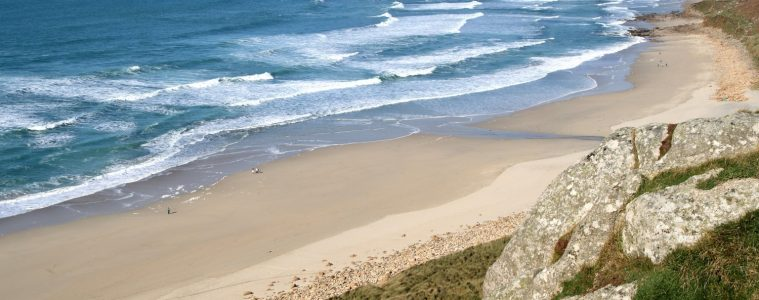 Sennen Cove is a beautiful beach in Cornwall. Click to read our pick of beaches in the UK