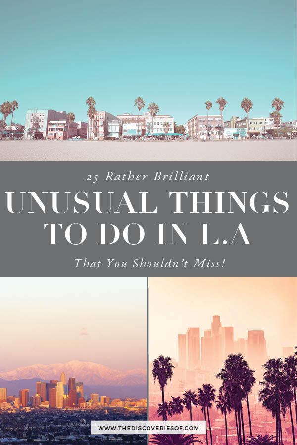 Unusual LA