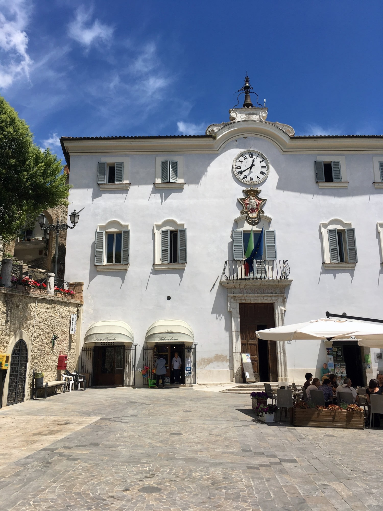 San Gemini Town Square