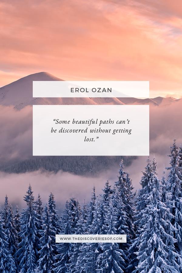 Erol Ozan Travel Quote - Journey Quotes