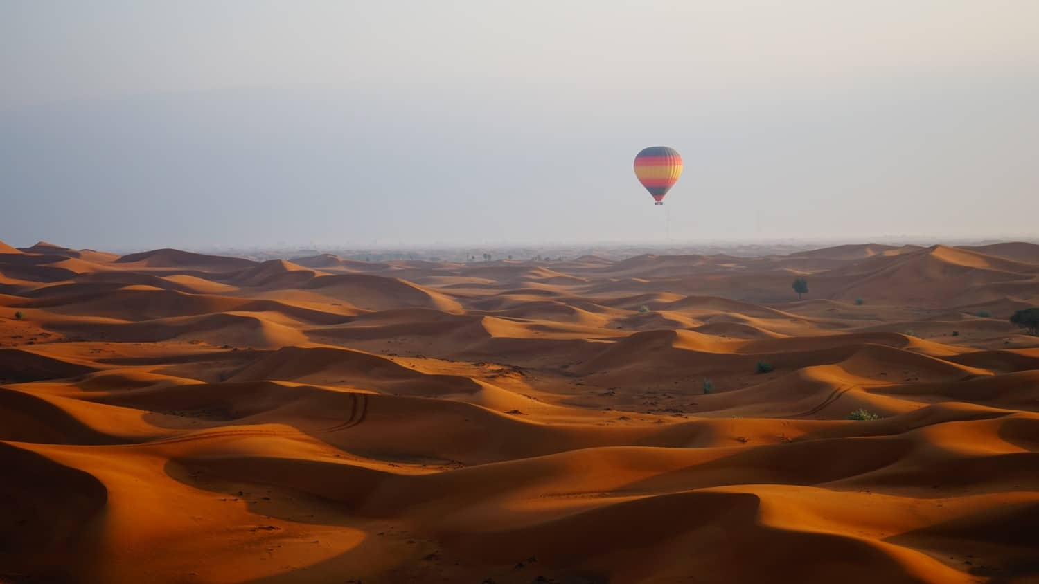 Going for a Balloon Ride in Dubai