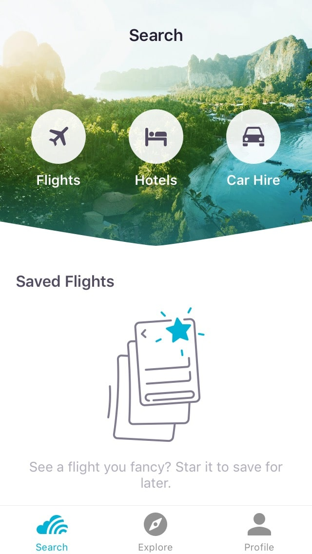 Skyscanner App - One of the best free travel apps