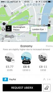 Uber is a great travel app