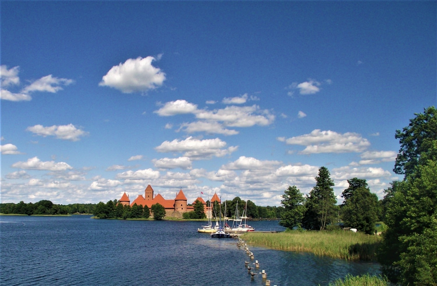 Lithuania Trakai Island Castle - Best Road Trips