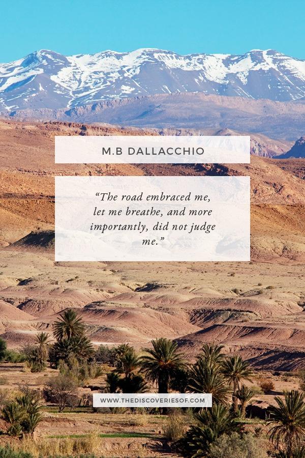M.B Dallachio Journey Quote
