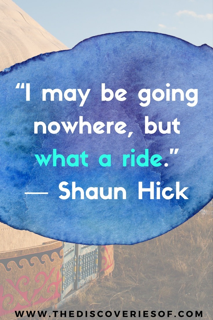 Fall in love with the road. Inspirational travel quotes you need to have in your life.