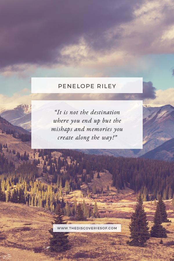 Penelope Riley - Memories Quote
