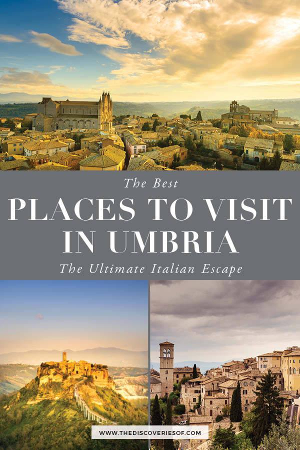 Places to visit in Umbria