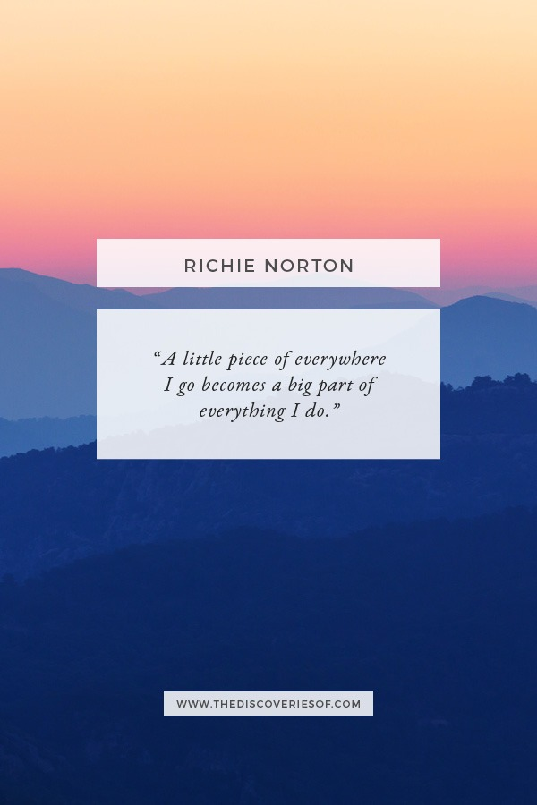 Richie Norton - Little Bit of Everywhere Quote