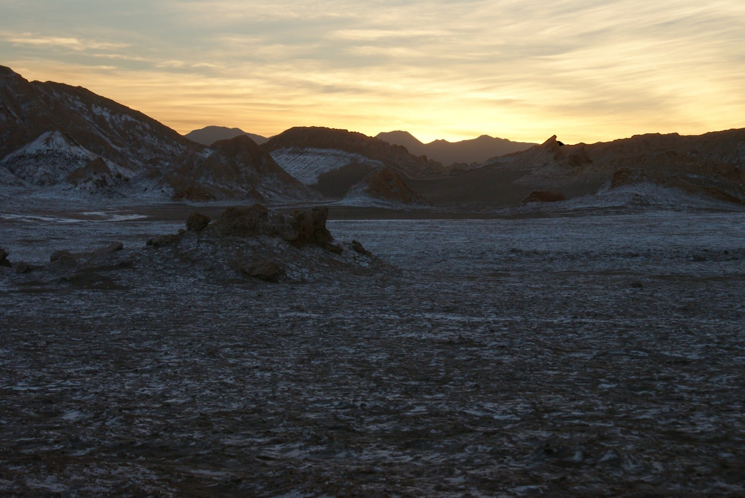 Valle de la Luna at Sunrise