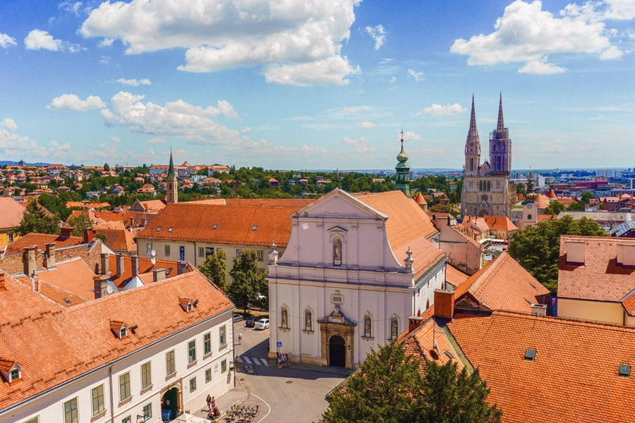Panorama of Zagreb