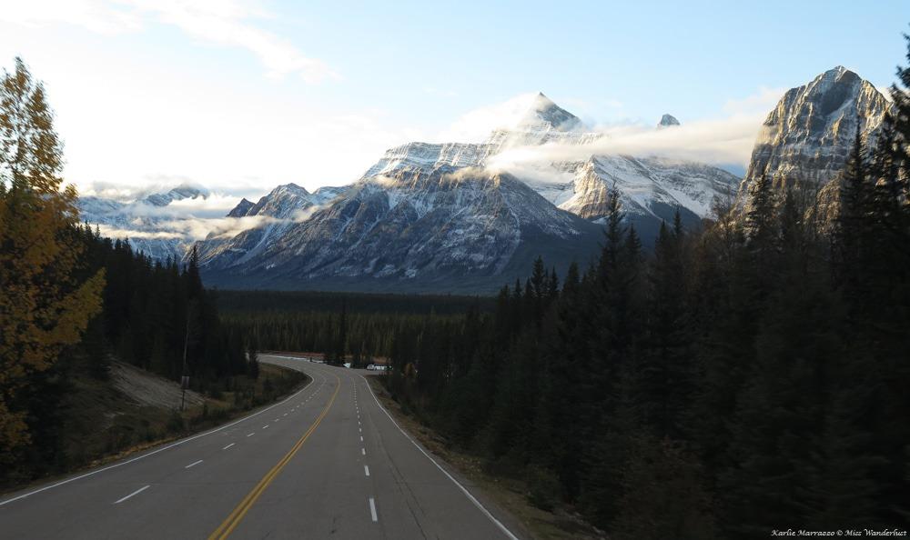 Icefields Parkway road trip