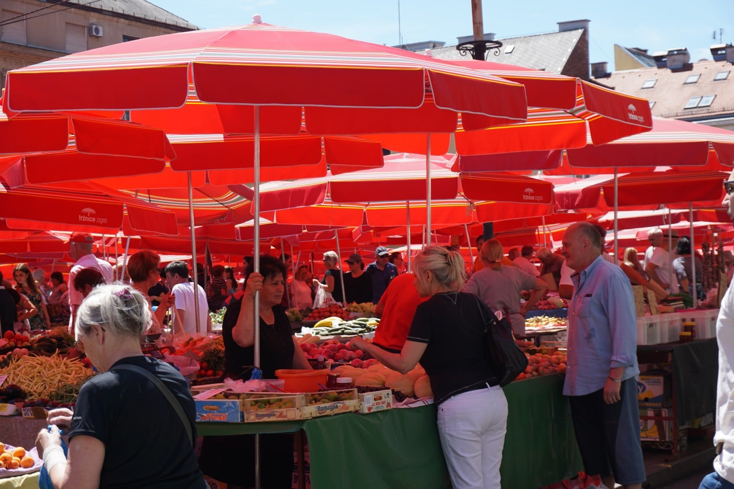 Dolac Market is one of the top things to do in Zagreb. Read our full guide.