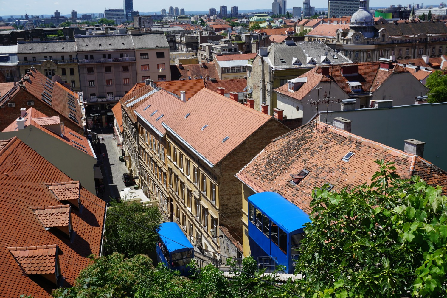 The funicular in Zagreb is so cool. Read our guide to the best things to do in Croatia's capital city.
