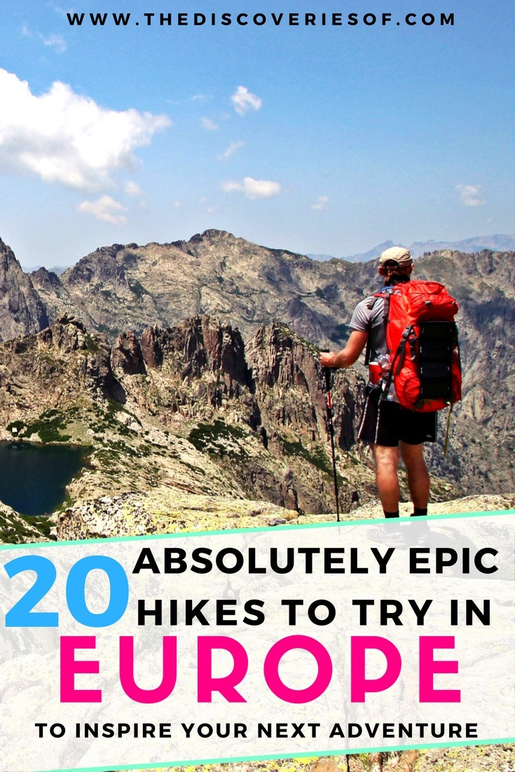 20 epic hiking trails in Europe that should be at the top of your bucket list. From Switzerland, France and Italy and Scotland, here are the best summer and winter hiking trails and destinations to inspire wanderlust and adventure. Read more.