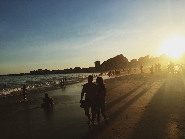 Brazil - Rio de Janeiro Sunset - 2 Week South America itinerary. Read more.