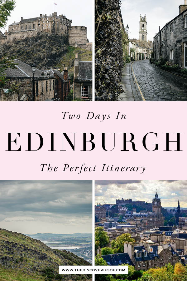 Edinburgh Itinerary