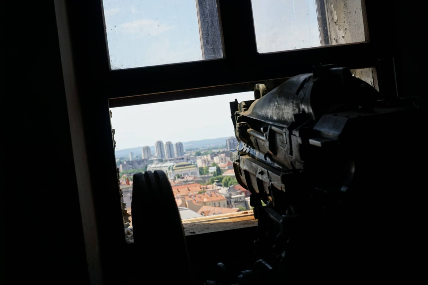Firing the cannon from Lotrscak Tower - Awesome Reasons to Go to Zagreb. Read more.