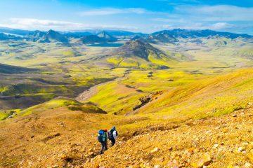 Laugavegur trek, Iceland - One of Europe's best hikes. Read more.