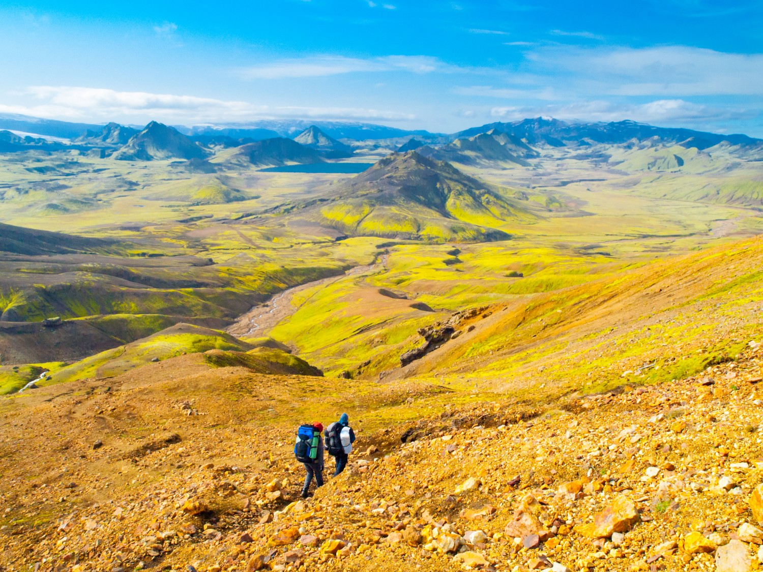 Laugavegur trek, Iceland - One of Europe's best hikes. Read more.