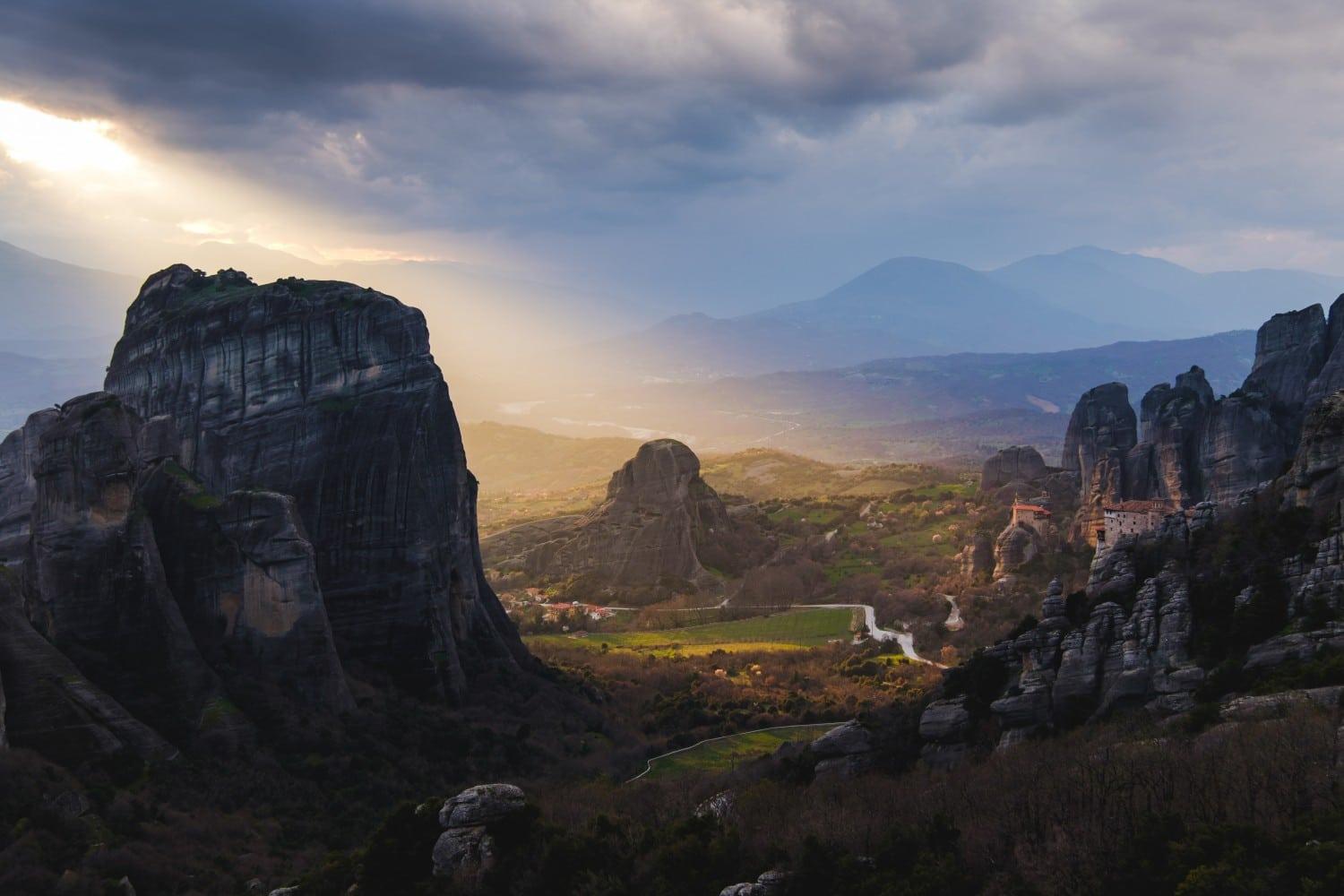Hiking in Meteora, Greece for some of the best hiking in Europe