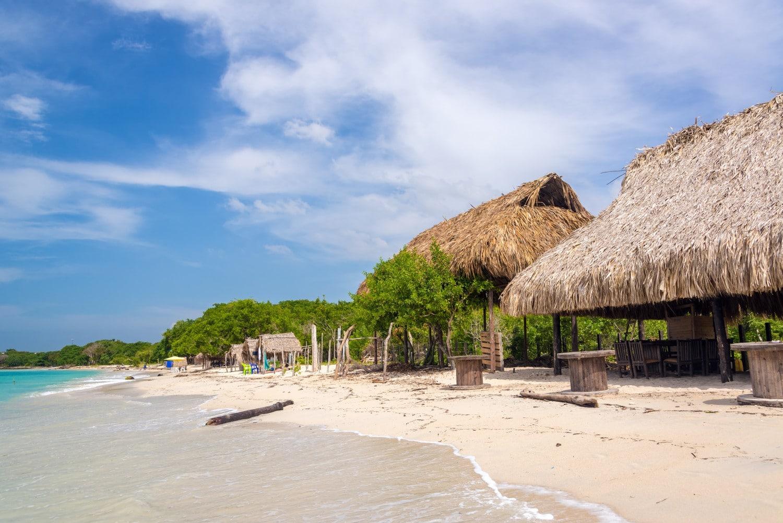 Playa Blanca - Colombia. A fabulous Colombian beach
