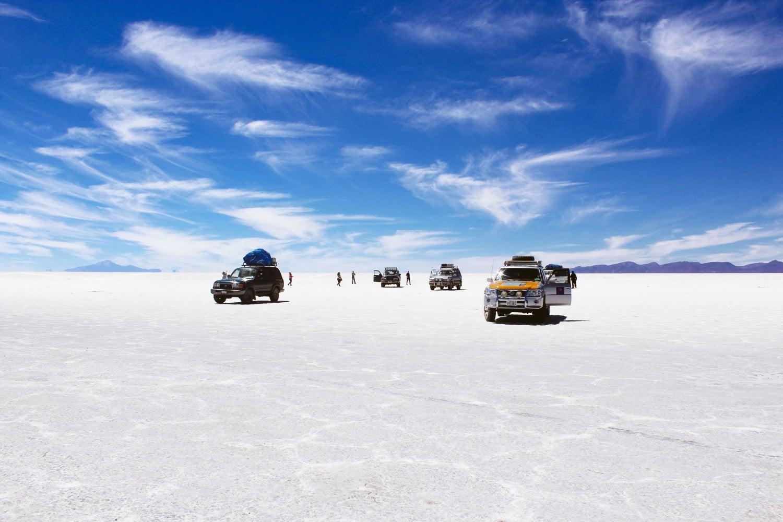 Salar de Uyuni in the Dry Season
