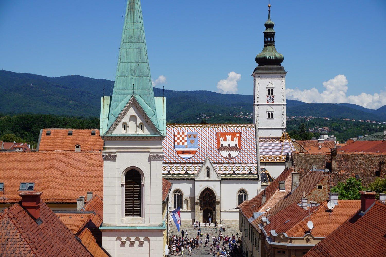 St Mark's Church, Zagreb Croatia