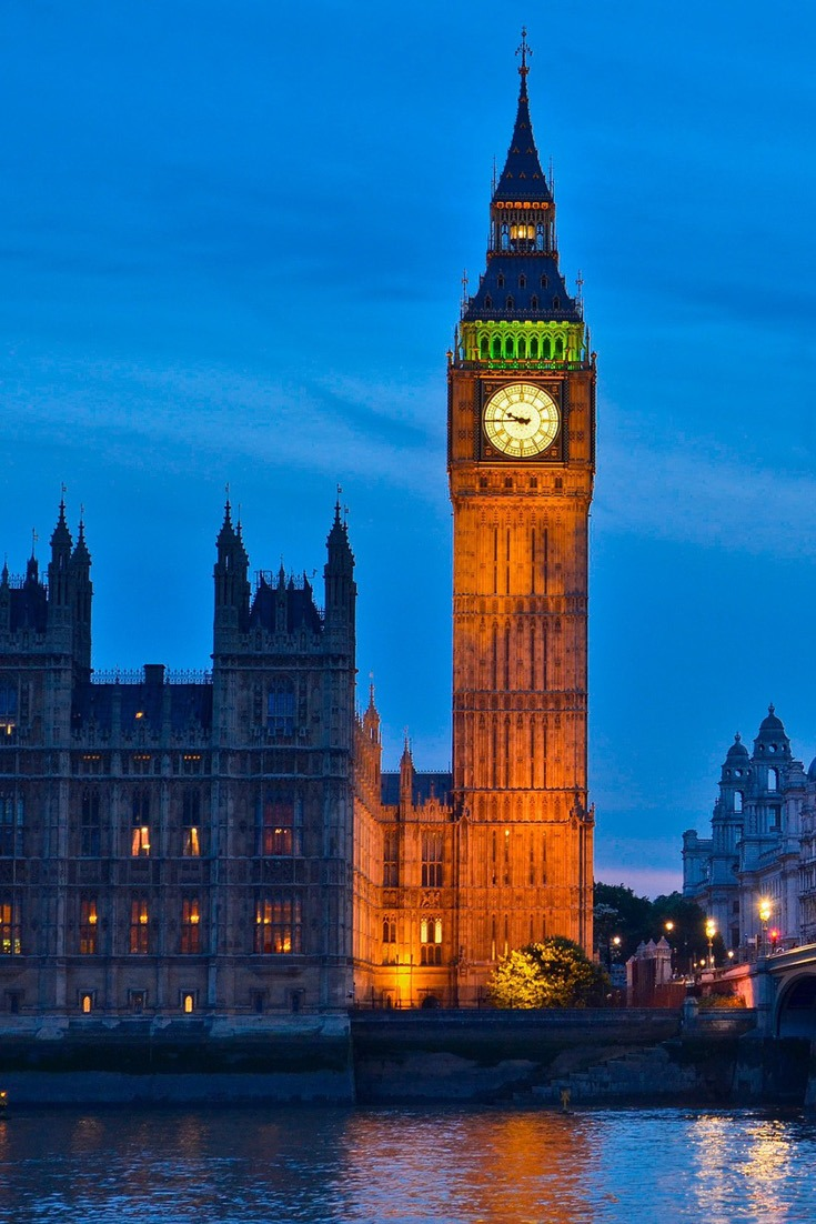 UK bucket list - Big Ben, London, United Kingdom
