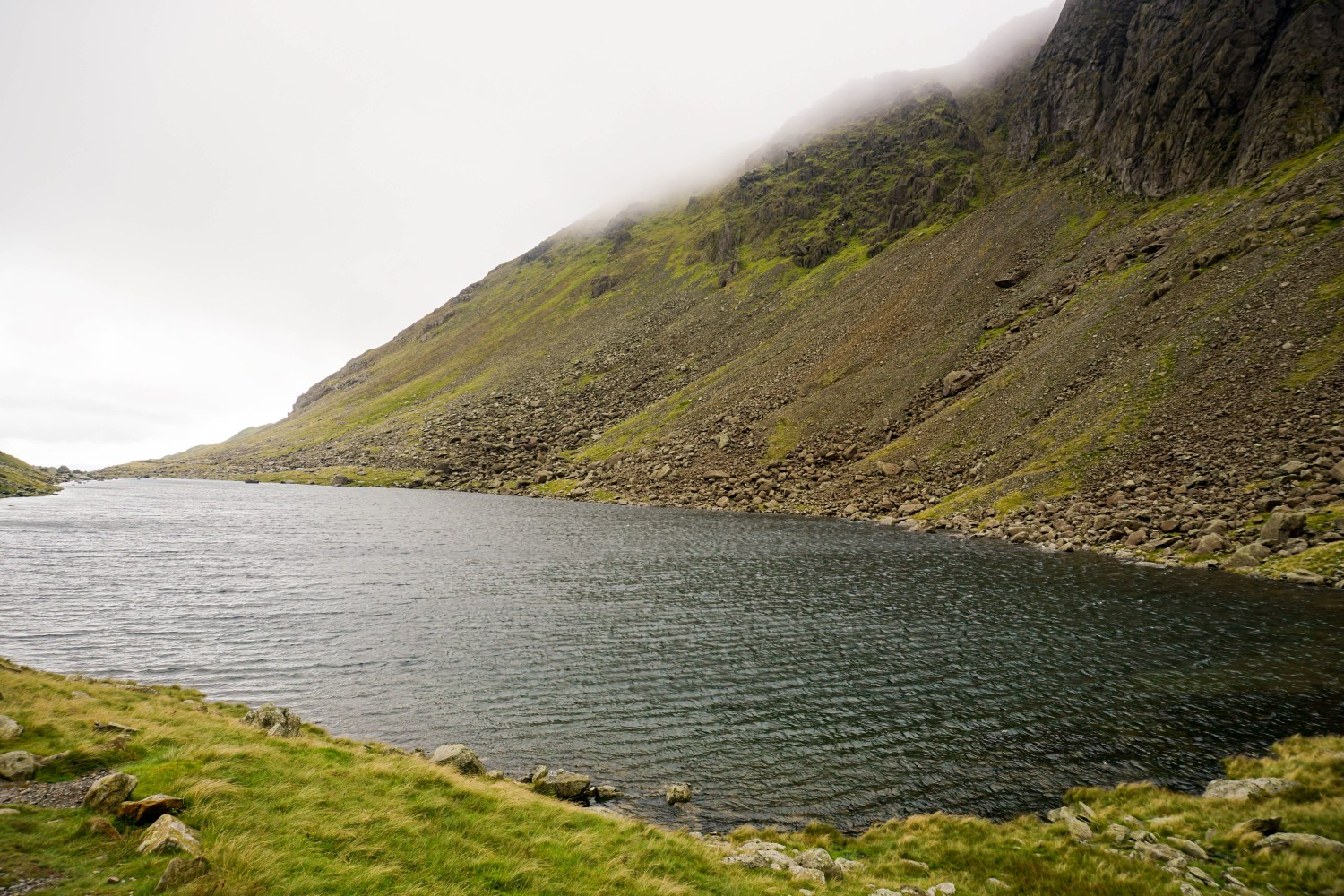 Walking in the Lake District. Goat Water. Read our guide to walking in the Lake District, UK.