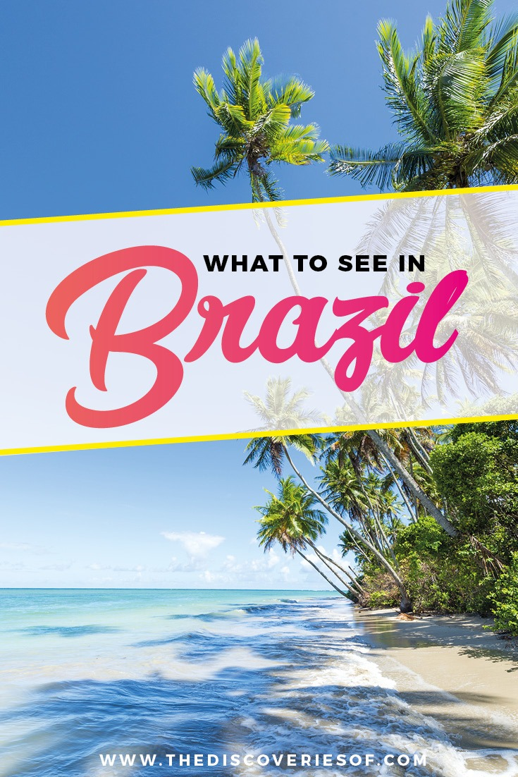 What's your Brazil travel bucket list? 16 must-see spots in Brazil. Unmissable culture, rainforest and beach experiences for your trip. #brazil #southamerica #travel #traveldestinations