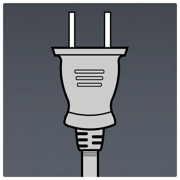 International Power Sockets Plug Type A - Plug