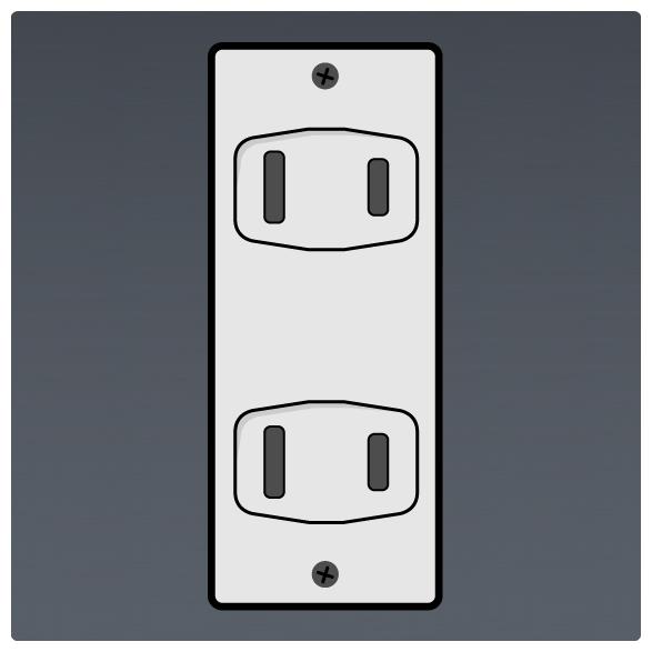 International Power Sockets Plug Type A