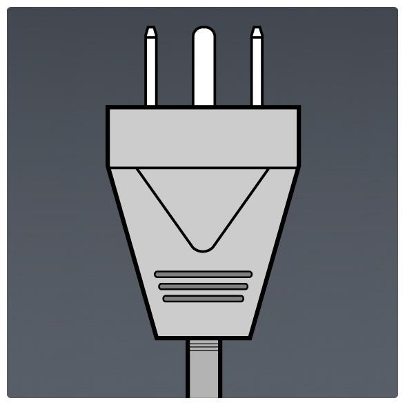 International Power Sockets Plug Type B