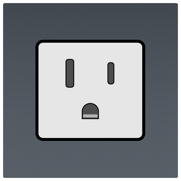 International Power Sockets Plug Type B socket