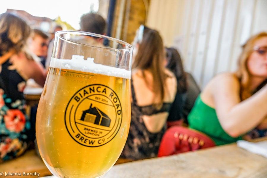 Bianca Road Brew Co on Bermondsey Beer Mile