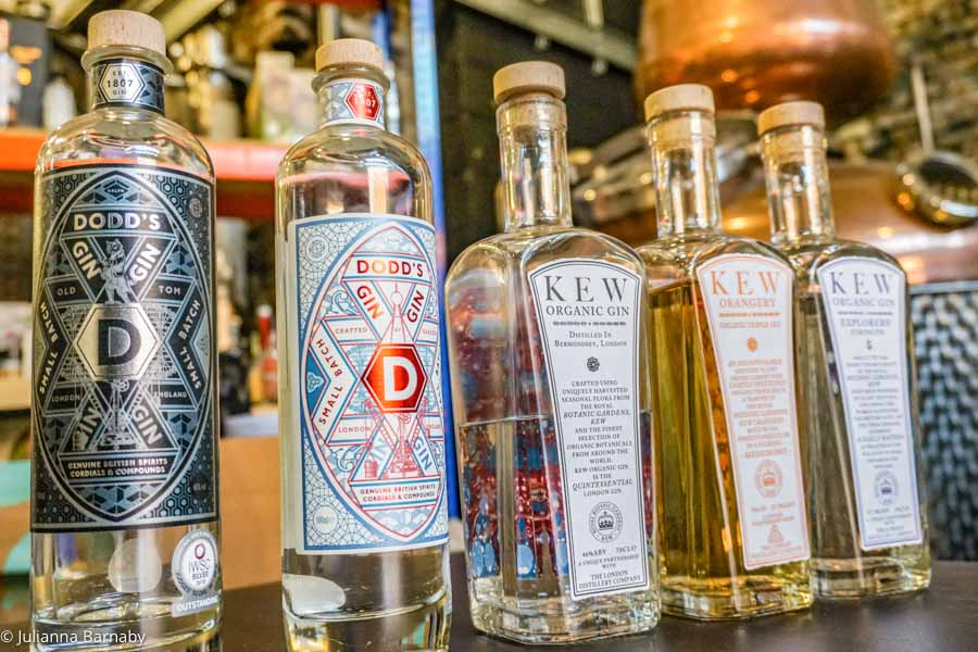 Gin at the London Distillery Company