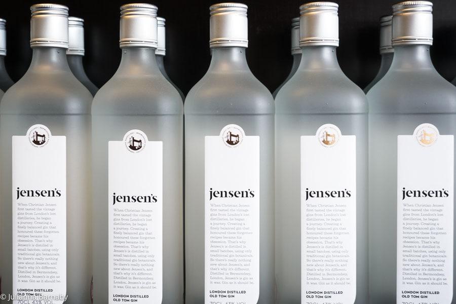 Gin at Jensen's Distillery