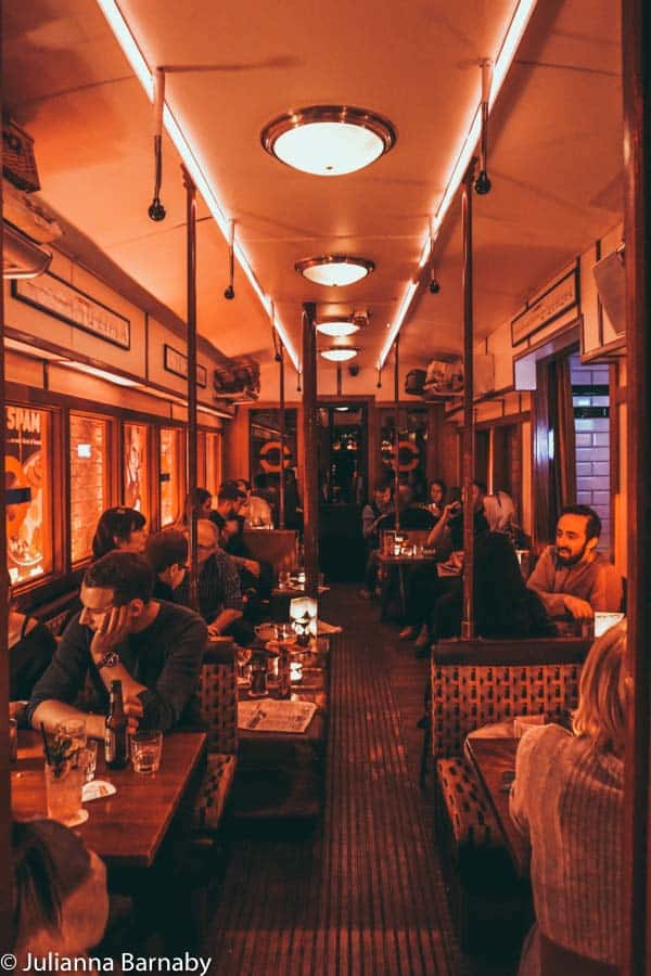 1940s underground bar Cahoots