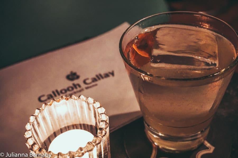 Cocktails at Callooh Callay
