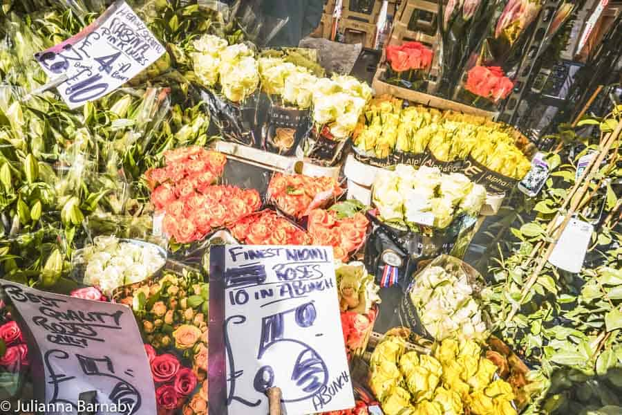 Flowers at the Market today