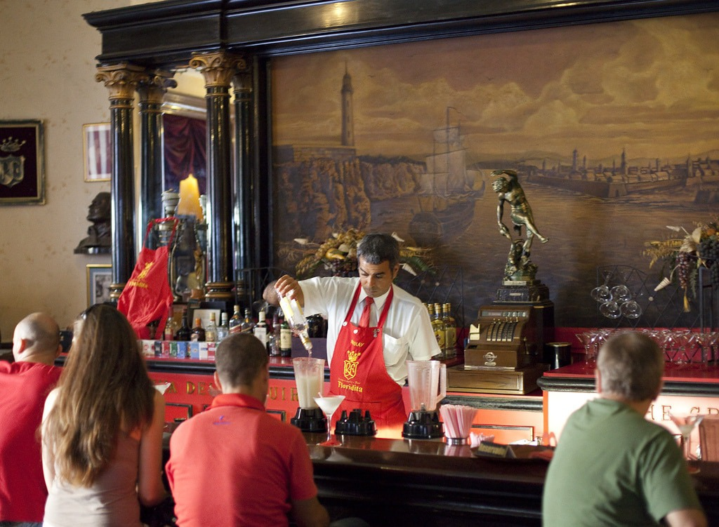 Drink like Hemingway in La Floridita - read our guide to the best things to see in Havana
