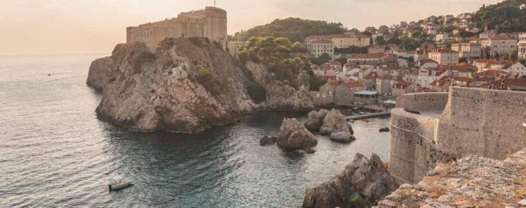 Views of Fort Lovrejinac Dubrovnik