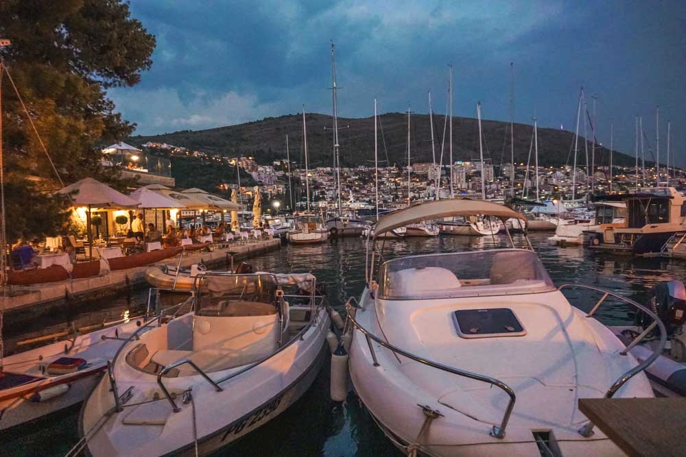 Marina Views at Restaurant Orsan