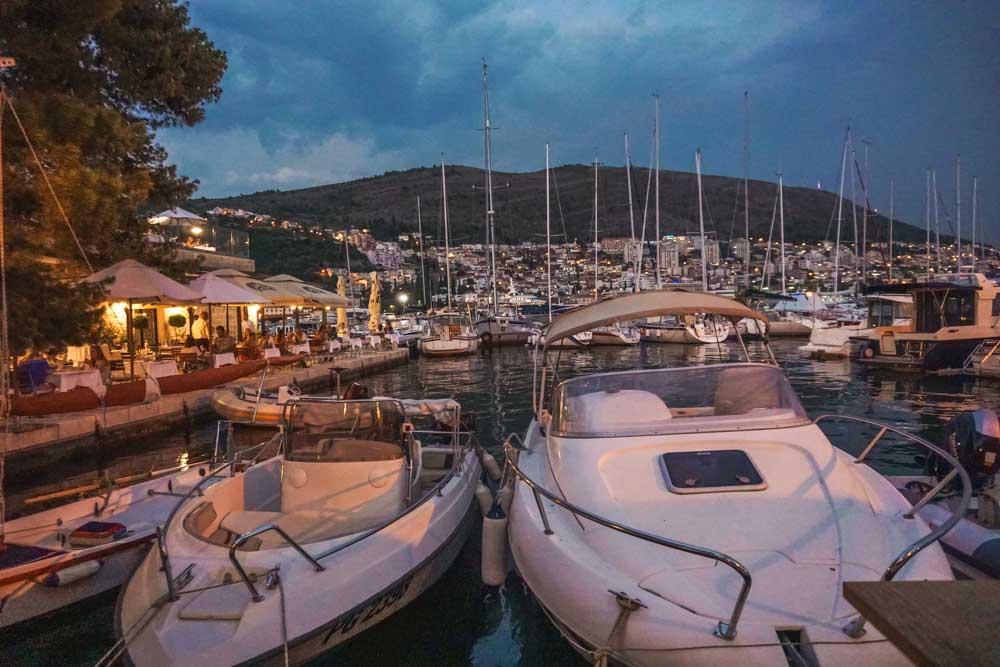 Marina Views at Restaurant Orsan