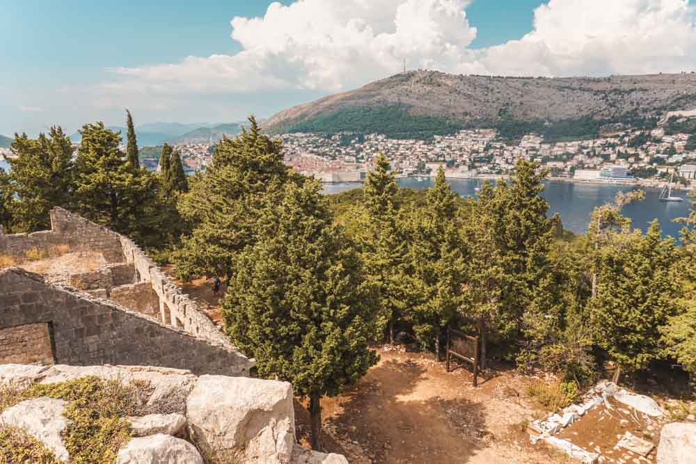 Views from the Highest Point on Lokrum