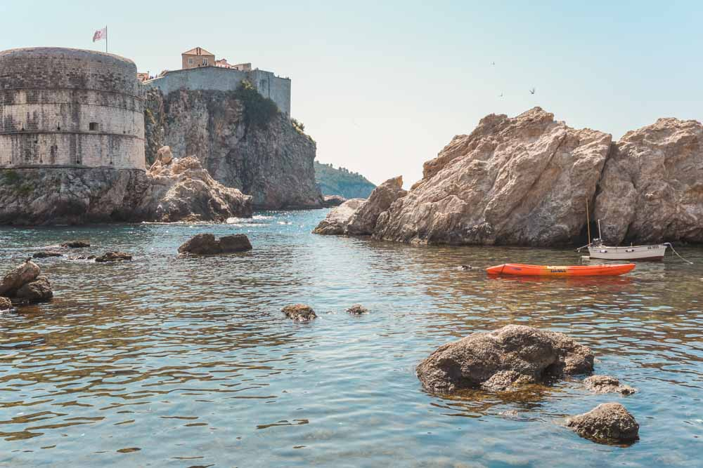 Kayak around Dubrovnik
